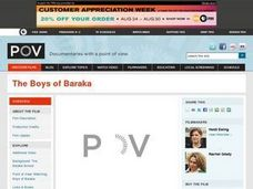 The Boys of Baraka Lesson Plan