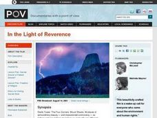 In the Light of Reverence Lesson Plan
