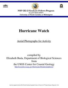 Hurricane Watch - Aerial Photographs for Activity Lesson Plan