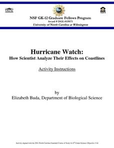 Hurricane Watch: How Scientists Analyze Their Effects on Coastlines Lesson Plan