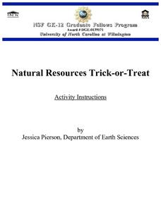 Natural Resources Trick-or-Treat Lesson Plan