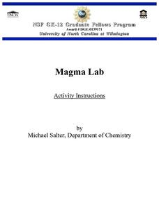 Magma Flow Lesson Plan