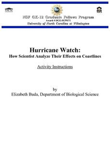 Hurricane Watch: How Scientist Analyze Their Effects on Coastlines Lesson Plan