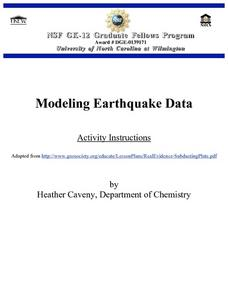 Modeling Earthquake Data Lesson Plan