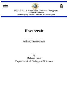 Hovercraft Lesson Plan