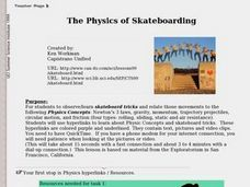The Physics of Skateboarding Lesson Plan