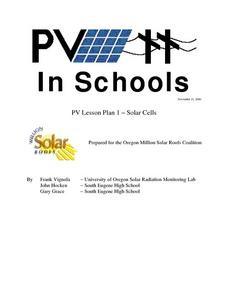 Solar Cells Lesson Plan