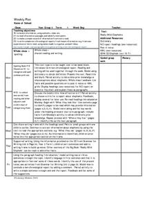 Paragraphs in Non-chronological Reports Lesson Plan