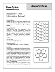 Kepler's Tilings Lesson Plan