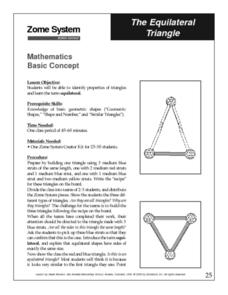 The Equilateral Triangle Lesson Plan