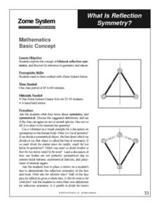 What is Reflection Symmetry? Lesson Plan