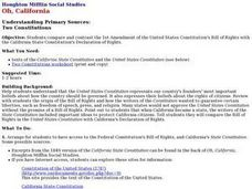 Two Constitutions Lesson Plan