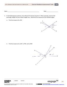 End-of-Module Assessment Task: Grade 7 Mathematics Module 6 Assessment