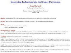 Integrating Technology Into the Science Curriculum Lesson Plan