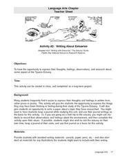 Writing About Estuaries Lesson Plan