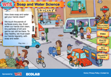 Soap and Water Science Interactive