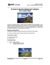Tourism in Newfoundland and Labrador Lesson Plan