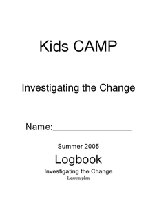 Investigating the Change Lesson Plan