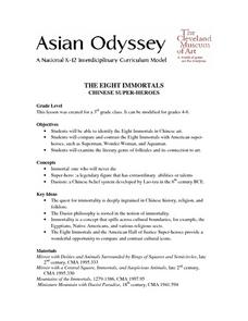 The Eight Immortals Lesson Plan