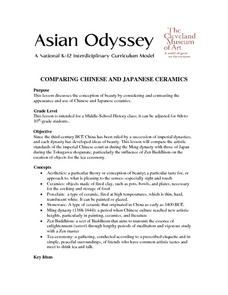 Comparing Chinese And Japanese Ceramics Lesson Plan