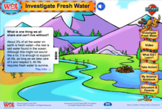 Investigate Fresh Water Interactive