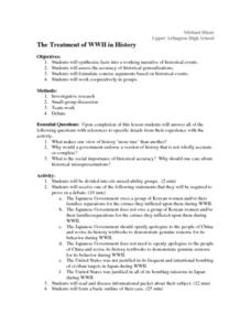 The Real World War II Lesson Plan