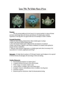 The Celadon Glazes of Korea Lesson Plan