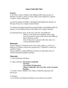 Asian Cinderella Tales Lesson Plan
