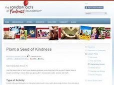 Plant a Seed of Kindness Lesson Plan