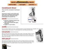 Condiment Diver Lesson Plan