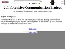Collaborative Communication Project Lesson Plan