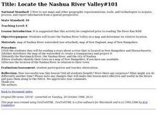 Locate the Nashua River Valley Lesson Plan