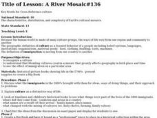 A River Mosaic#136 Lesson Plan