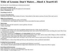 Don't Water....Shed A Tear#145 Lesson Plan
