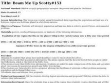 Beam Me Up Scotty#153 Lesson Plan