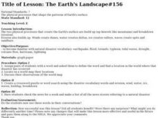 The Earth's Landscape#156 Lesson Plan