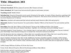 Disasters 203 Lesson Plan
