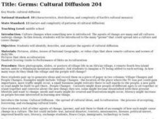Germs: Cultural Diffusion Lesson Plan