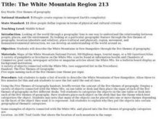 The White Mountain Region 213 Lesson Plan