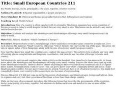 Small European Countries Lesson Plan