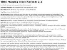 Mapping School Grounds Lesson Plan