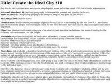 Create the Ideal City Lesson Plan