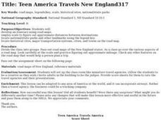 Teen America Travels New England Lesson Plan