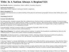 Is A Nation Always A Region? Lesson Plan