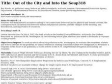 Out of the City and Into the Soup Lesson Plan