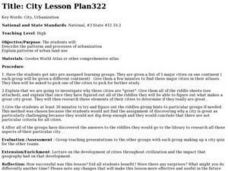 City Lesson Plan Lesson Plan