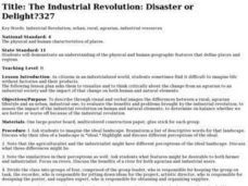 The Industrial Revolustion Lesson Plan