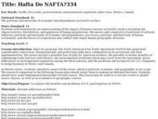Hafta Do NAFTA? Lesson Plan