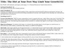 The Dirt at Your Feet May Limit Your Growth Lesson Plan