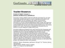 Journey of Discovery and Rivers Lesson Plan